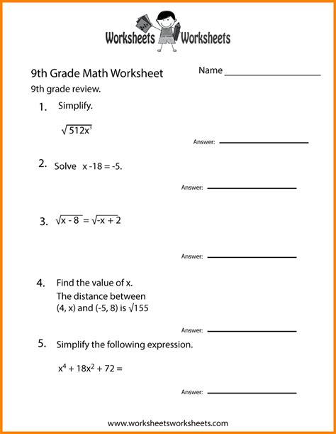 7 8 grade math worksheets this is design stuff