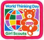 girl scout world thinking day images world