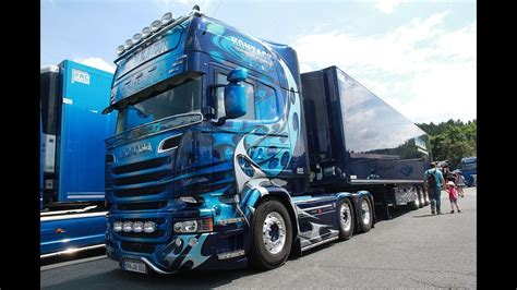 konzack transport logisitk scania  topline showtruck