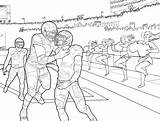 Coloring Football Pages Michigan Notre Dame Club Tennessee State Vols Wolverines Getcolorings Printable Getdrawings Colorings sketch template