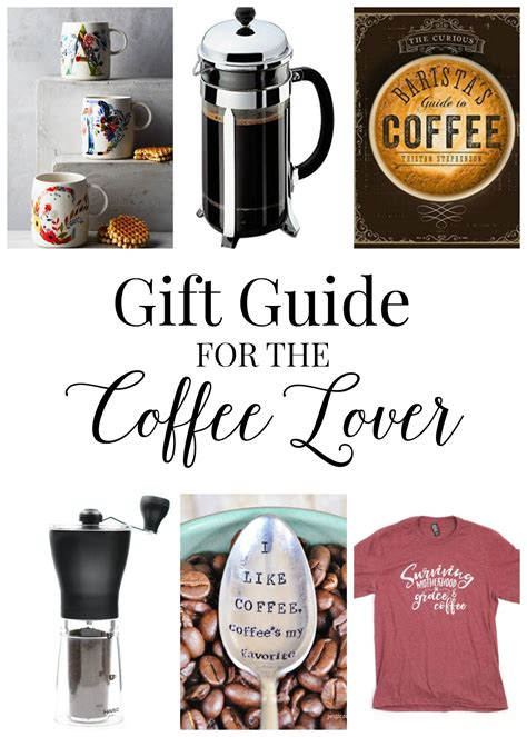gift guide for the coffee lover holiday gift guides