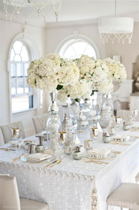 white table decorations for weddings white wedding decorations decoration 1357