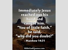 Bible Quotes About Doubting God QuotesGram