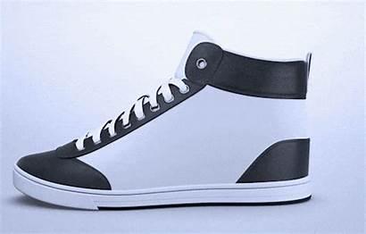 Shoes Custom Wear Ink Sneakers Display Action