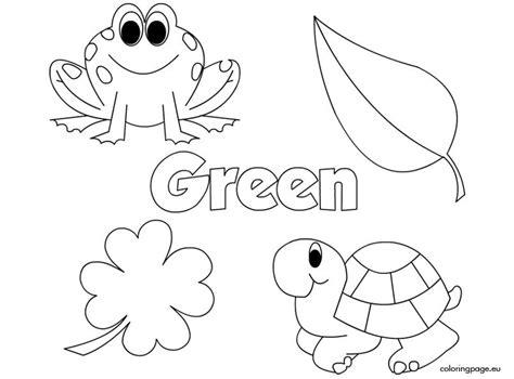 color green  images preschool colors teaching