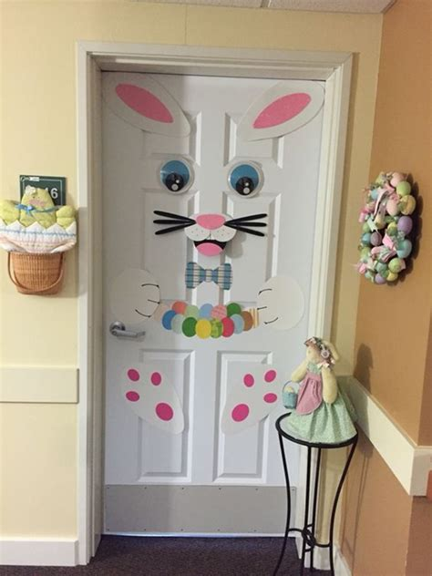 easter door decorations 40 outdoor easter decorations ideas to make
