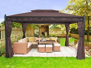 xm metal gazebo pavilion awning tent canopy sun shade shelter marquee greenbay