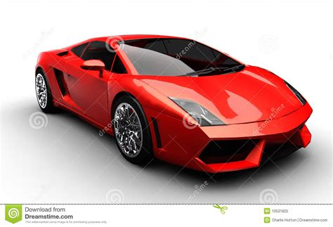Red Sports Car Royalty Free Stock Photo - Image: 10531825