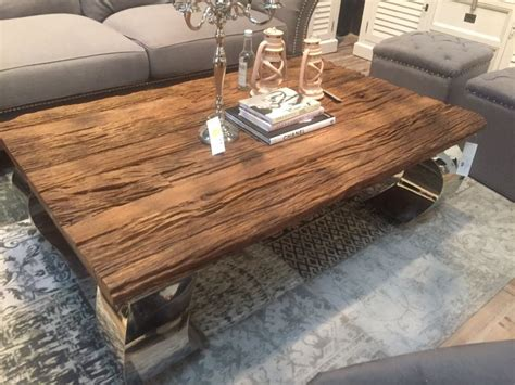 rustic coffee tables enchant the with their simplicity