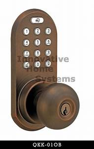 Morning Qkk Series Touchpad And Remote Control Entry Door