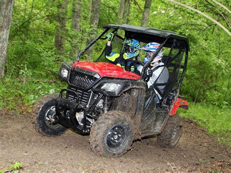 ride  review   honda pioneer  atv