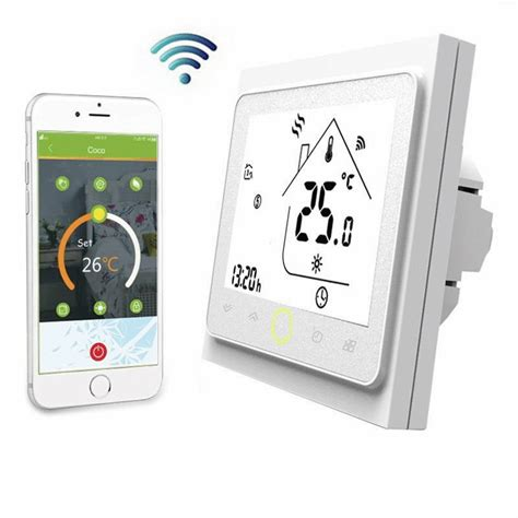 thermostat chauffage au sol electrique wifi smart thermostat thermom 232 tre hygrom 232 tre instruments