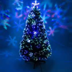 6ft Pre Lit Christmas Tree Sale by Green Fibre Optic Christmas Tree With Baubles Amp Leds