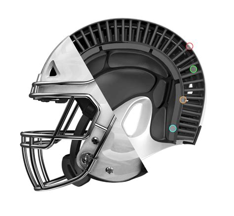 football helmet designer packerville u s a new helmet design