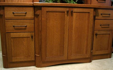 Cabinet Knobs For Oak Cabinets by Quartersawn Oak Cabinet Hardware Ideas Cabinet Works