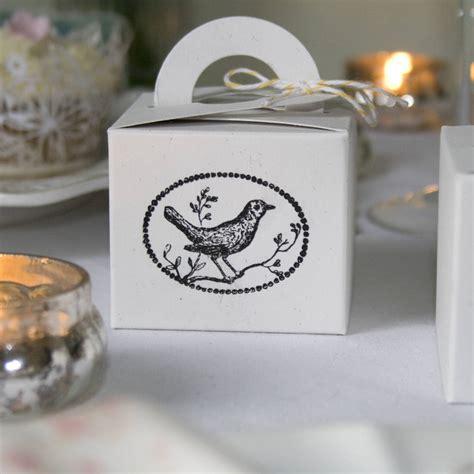 set  ten recycled oatmeal favour boxes  wedding   teacup notonthehighstreetcom