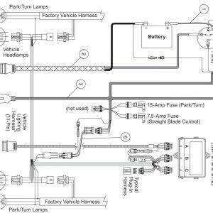 Western Snow Plow Wiring Diagram Free