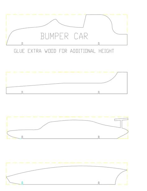 templates pinewood derby cars qualads