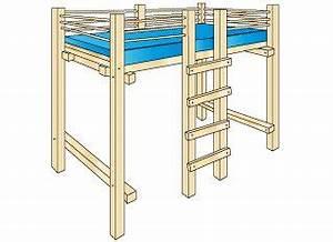 Stabiles Bett Selber Bauen : bett selber bauen bauanleitung f r ein stabiles kinder hochbett ~ Eleganceandgraceweddings.com Haus und Dekorationen