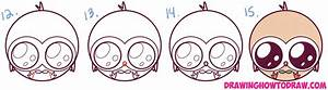 How to Draw Cute Kawaii Chibi Rowlet from Pokemon Sun and ...