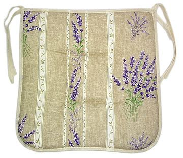 country kitchen chair cushions with ties provence seat pad with ties lavender 9493