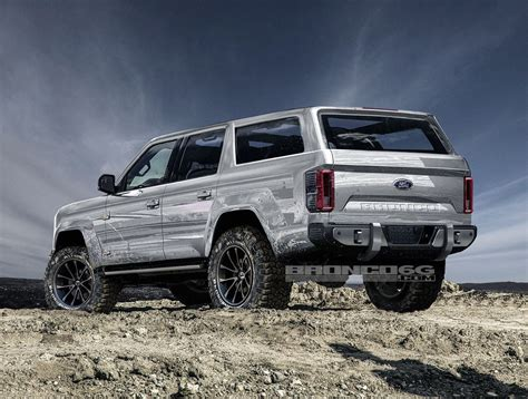 Ford Bronco 2020 by 2020 Ford Bronco To Get 325 Hp 2 7l Ecoboost V6 According