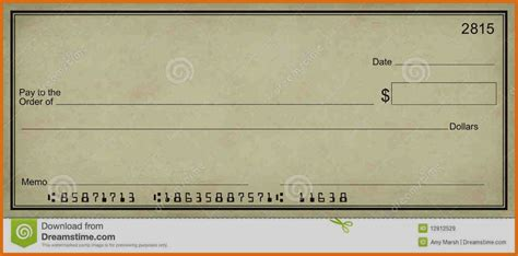 Blank Check Template Trend Blank Check Template For Students Templates Editable