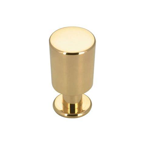 brass kitchen knobs richelieu hardware contemporary and modern 5 8 in brass