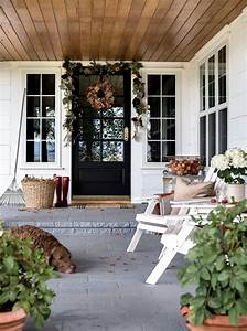 Simple, Fall, Decorating, Ideas, For, Your, Front, Porch, U2014, Boxwood, Avenue