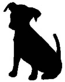 Dog Silhouettes Templates