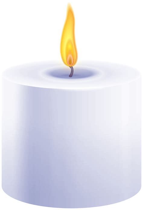 The whole body is transparent and available here. Purple Pillar Candle PNG Clip Art - Best WEB Clipart