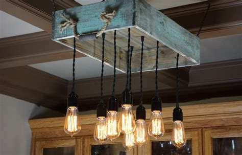 propuestas de lamparas de techo de palets elegantes