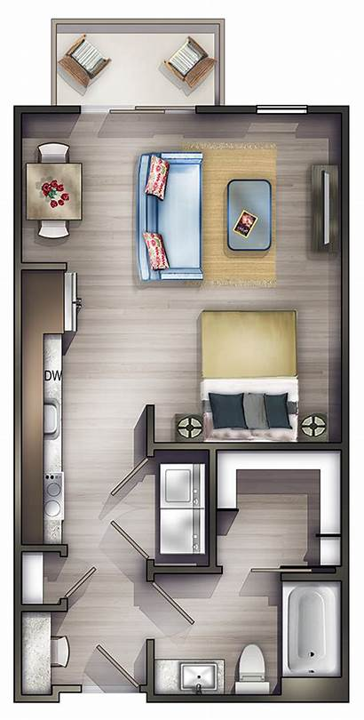 Studio Apartments Apartment Floor Plans Luxury Bedroom