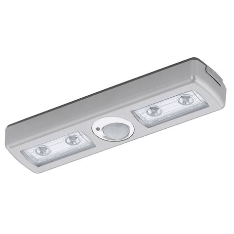 battery under cabinet lighting eglo 94686 baliola 4 led pir battery operated under