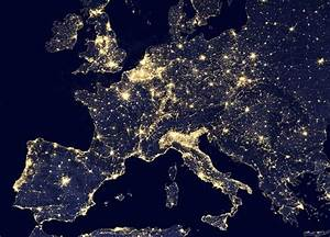 A nighttime view of Europe using the Visible Infrared ...