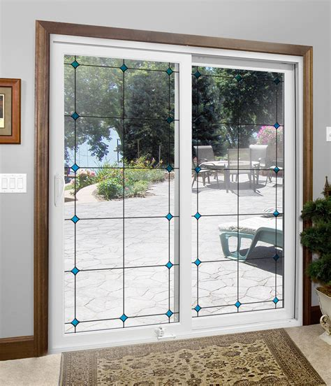 custom sliding glass and hinged patio doors offer many options