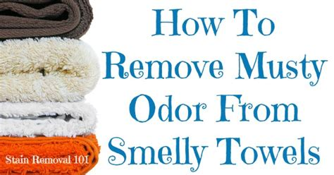 Remove Musty Odor  Smelly Towels