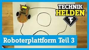 Roboter Selber Bauen Für Anfänger : roboter selber bauen teil 3 autonomes fahren technikhelden von conrad youtube ~ Watch28wear.com Haus und Dekorationen