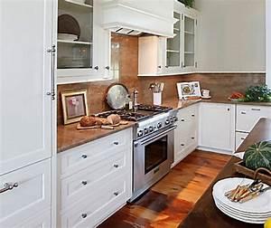 Cuisine En Marbre : cuisine cr dence classique claire en marbre ~ Melissatoandfro.com Idées de Décoration