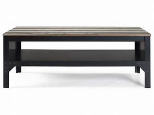 Petite Table Basse Pliante : table basse rectangulaire turner vente de table basse conforama ~ Melissatoandfro.com Idées de Décoration