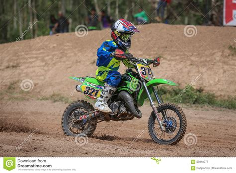 infant motocross kids motocross fuse racing thailand 2015 editorial