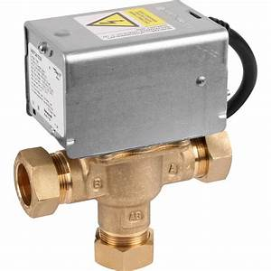 Honeywell 3 Port Mid Position Valve 22mm