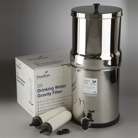 best countertop water filtration system doulton w9361122 countertop water filter system