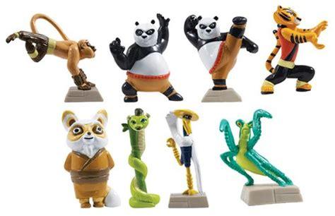 kung fu panda legends  awesomeness tiny figure set set