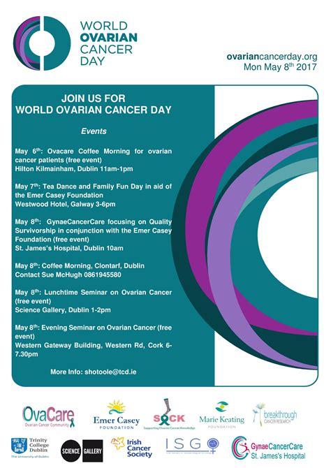 join world ovarian cancer day emer casey foundation