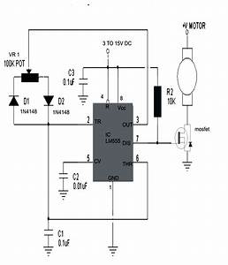 3 Simple Dc Motor Speed Controller Circuits Explained