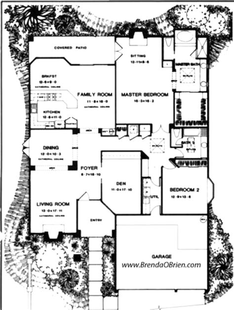 saddlebrooke floor plan posada model