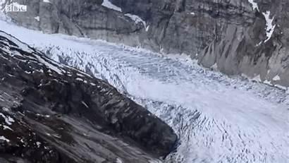 Glacier River Glaciers Gifs Timelapse Downhill Moving