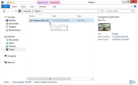 hướng dẫn chạy file mkv trong windows media player ở windows 8