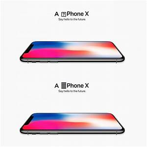 I fixed these iPhone X ads. You are welcome, Apple. : iphone